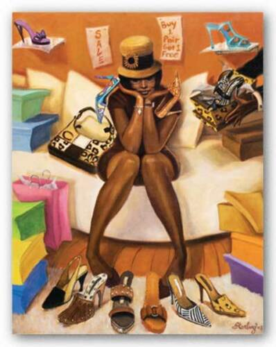 Choices Sterling Brown African American Art Print 14x11