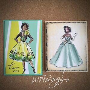 2011/2018 Disney Designer Princess Collection TIANA Note Card Steve Thompson Art