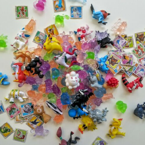 Treasure Box Party Favors Pinata Filler 250 Pokemon Figures /& Stickers