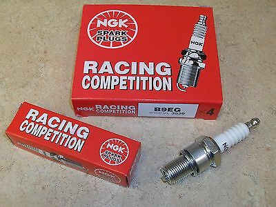4 NEW NGK B9EG RACING SPARK PLUGS YAMAHA YZ100 YZ 100 YZ125 125 YZ250 250 IT 200