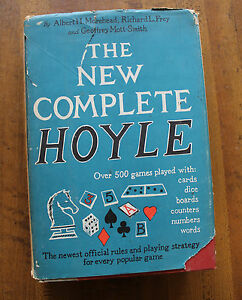 Details About 1956 New Complete Hoyle Hardcover With Dustcover Rules To Game Play Over 500