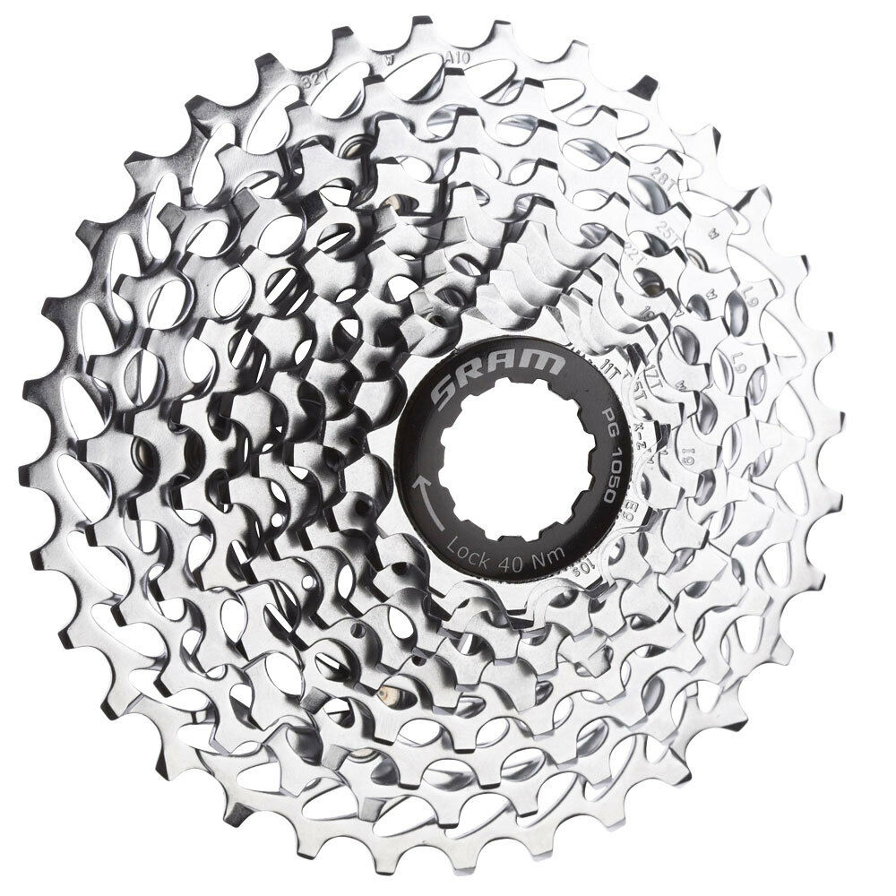 SRAM PG-1050 10 Speed Bike Bicycle Cassette - 11-32
