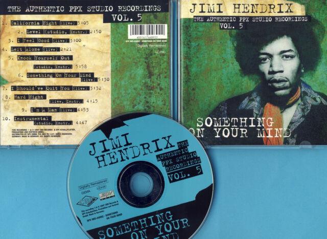 Jimi Hendrix / The PPX Studio Recordings / Vol. 5 / CD von 1997 / Neuwertig !