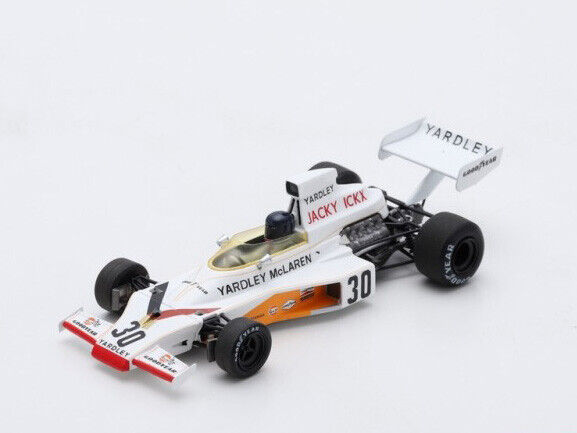 Spark Model 1 43 s7145 Mc Laren M23 F.1 Ford rd German GP 1973 Ickx NEW