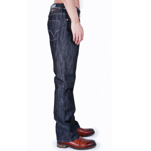 MENS CLASSIC FIT JEANS STRAIGHT LEG WITH BELT 28-40 42 44 46 48 50 52 54