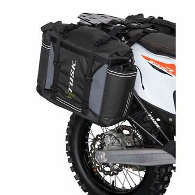 KTM 1190 Adventure 2013-2016 Fits Tusk Aluminum Panniers with Pannier Racks Large Black