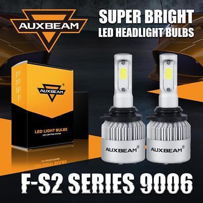 Auxbeam Low Beam 9006 HB4 LED Headlight Fog Bulbs Replace Kit 72W 8000LM 6500K