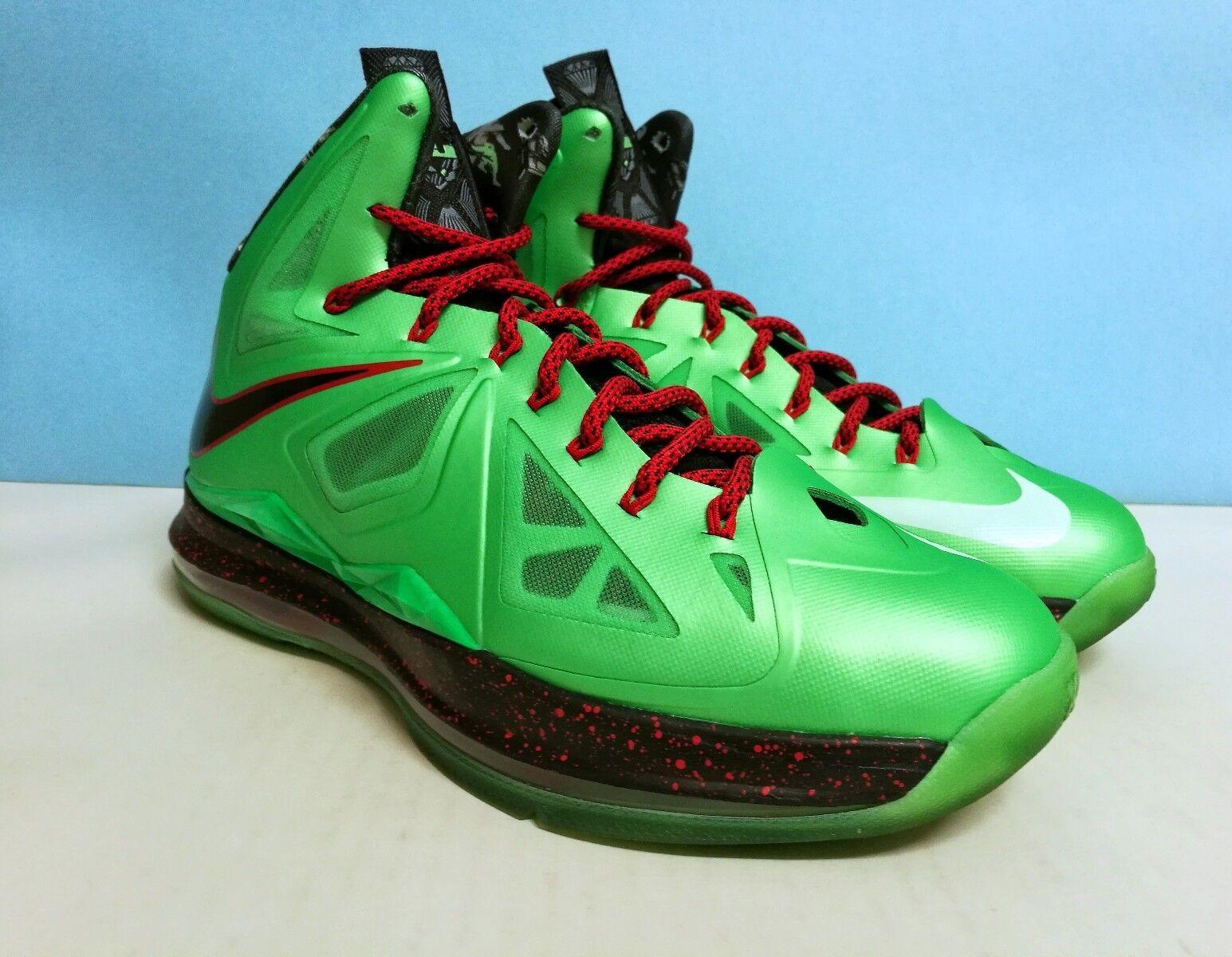 timeless design 6e4a9 561d3 Nike Lebron X CUTTIN JADE sz 9 US 42.5 EU 541100 303 Jordan kobe kd