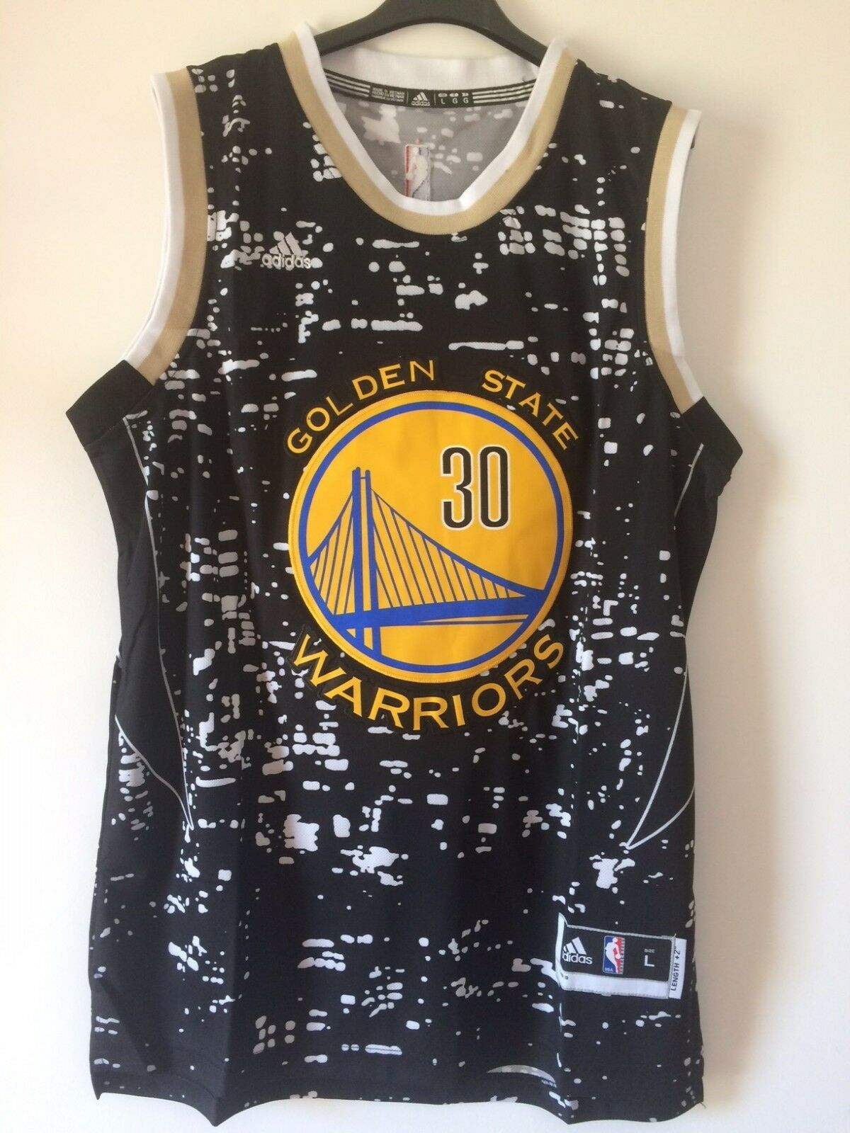 Tank top nba basketball Stephen Curry shirt golden State jersey Warriors S   M