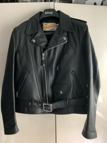 Schott NYC Perfecto 613 One Star Leather Motorcycl