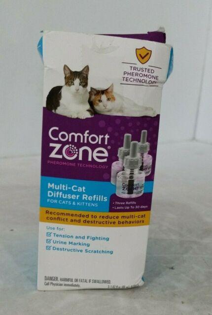 Comfort Zone Multi-Cat Diffuser Refills - 3 Refills