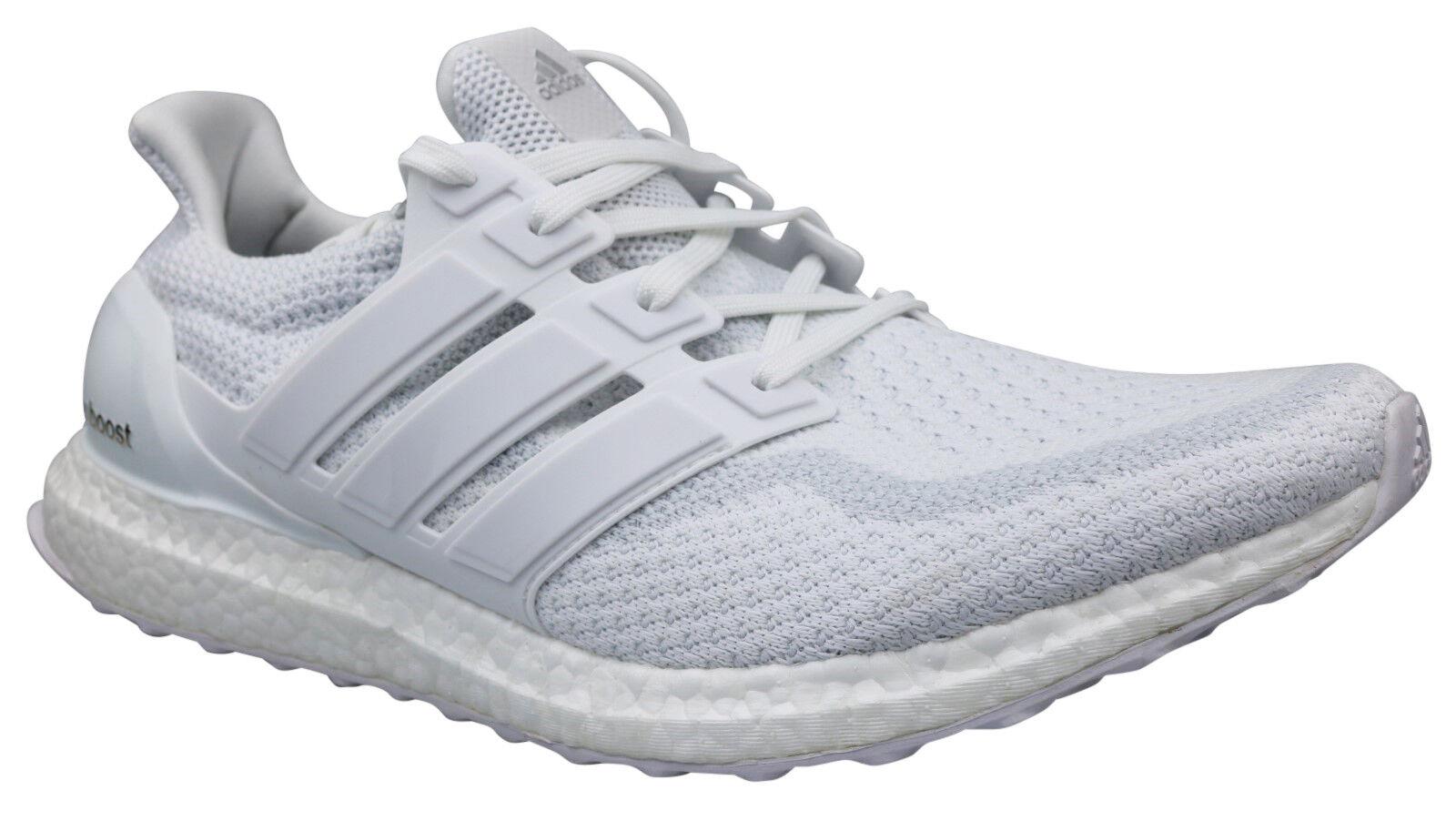 Adidas ultra Boost m Triple Triple Triple blanco señores zapatillas cortos talla 49 1 3 50 2 3 nuevo 4901c1