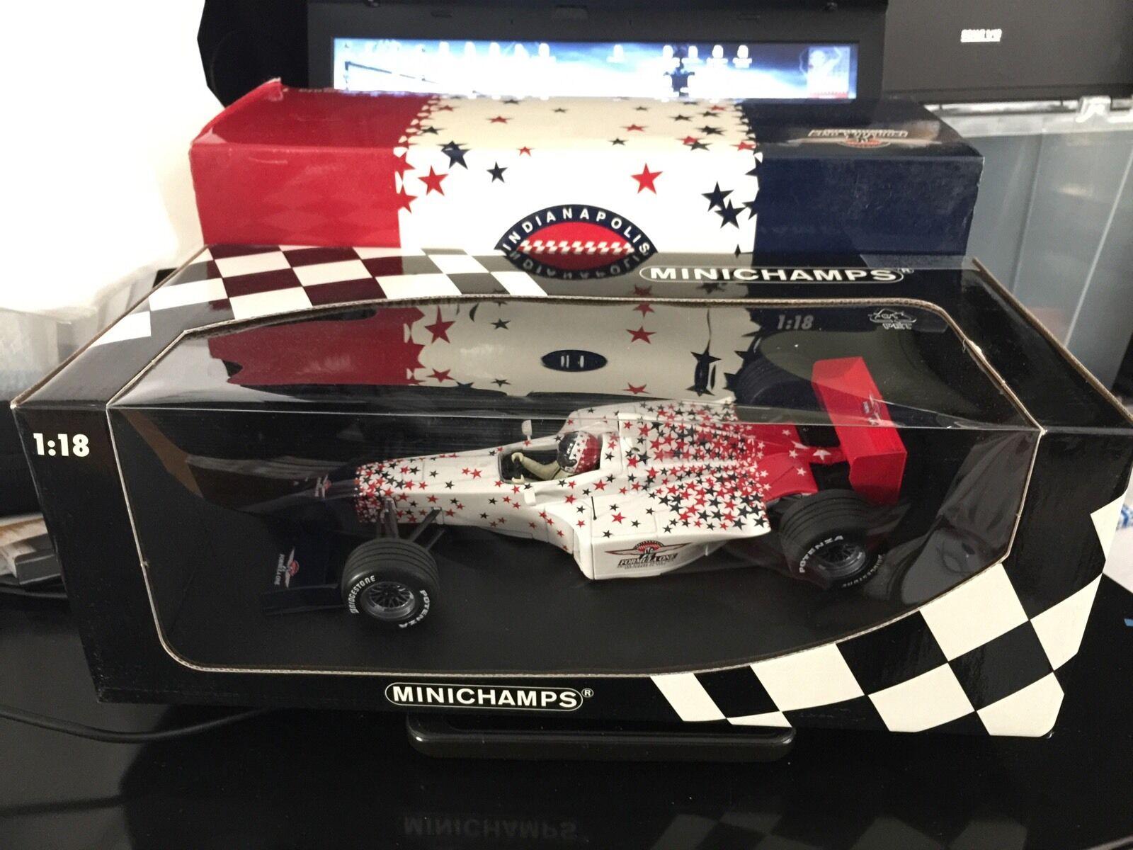 1 18 PMA Minichamps 2000 USA American Grand Grand Grand Prix F1 Indianapolis Indy-no ut Autoart 726f3a