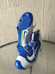 419b2721ca8db NEW Nike Air Huarache 2K Filth Elite Mid Baseball Cleats Blue Sz 12 ...