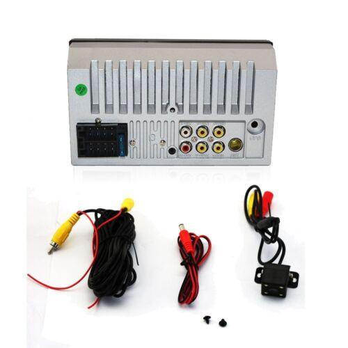 "Camera 7/"" Stereo Bluetooth MP5 Player Car Radio HD Touch Screen FM//AUX//USB//TF"