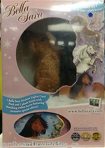 White Horse Bella Sara Small Plush Gift Box