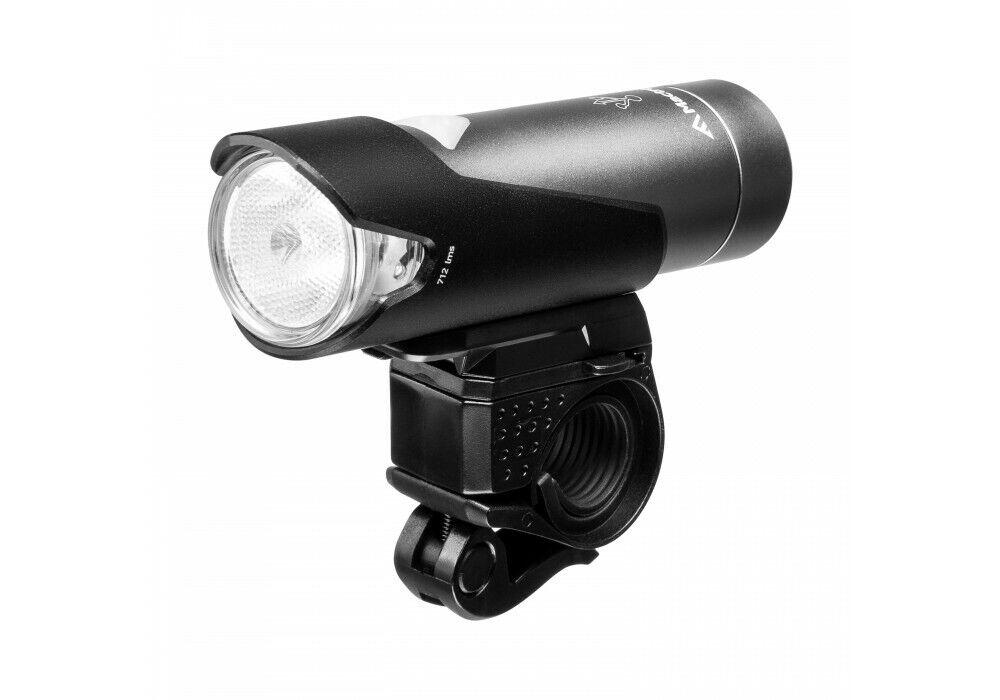 TORCIA MACTRONIC LAMPADA BICICLETTA davanti Noise XTR 04 LED 712 Lumen Batteria ip64