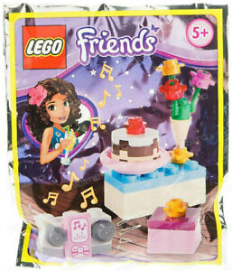Lego-Friends-561504-Gateau-anniversaire-et-radio-Mini-Party-foil-pack