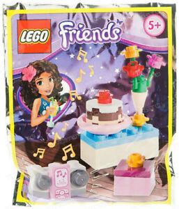Lego-Friends-561504-Gateau-anniversaire-et-radio-Mini-Party-foil-pack