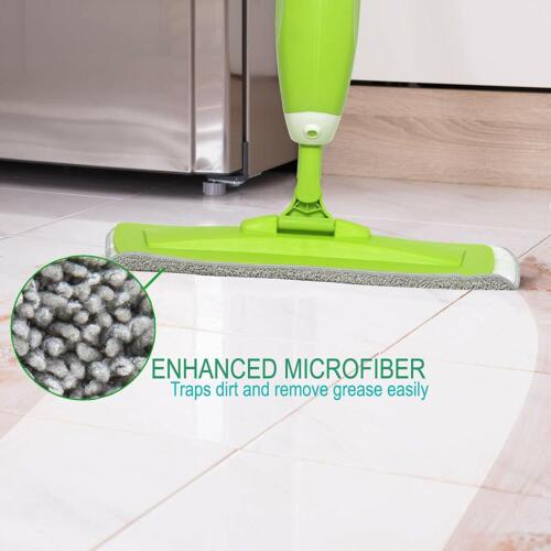 Guay Clean Microfiber Refillable Spray Mop for Wet and Dry Floor Cleaning