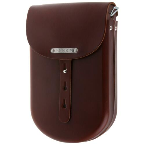 Brooks b2 Cuir Sacoche de vélo MOYEN MEDIUM Marron Épaule Capes leather bag