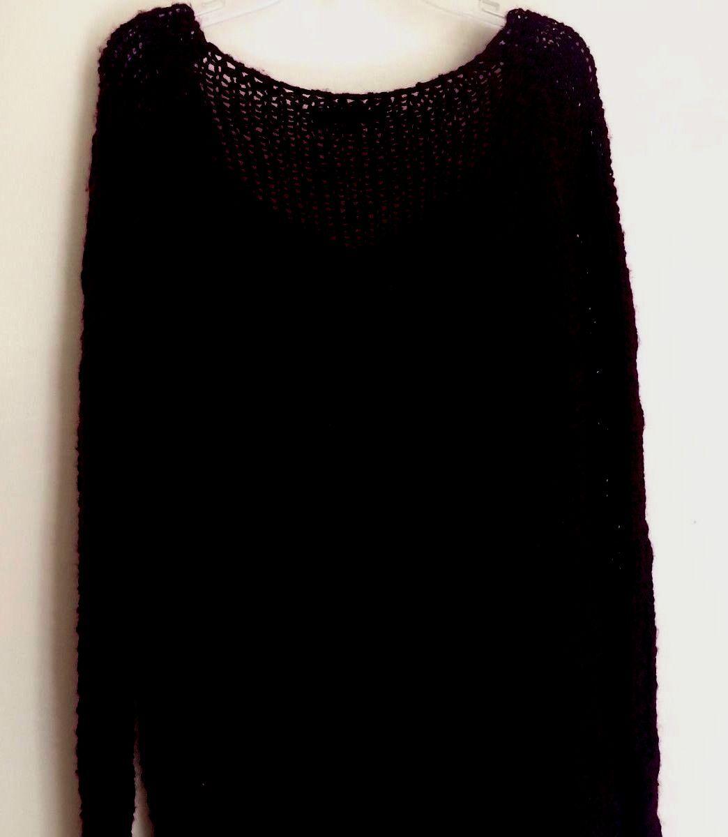 350 NWT Berretti crocheted wine-red sweater made made made in  Sz L 2e47ce