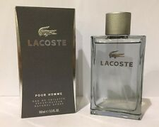 Lacoste Pour Homme By Lacoste 3.3 / 3.4 Oz EDT Spray New In Box Cologne For Men