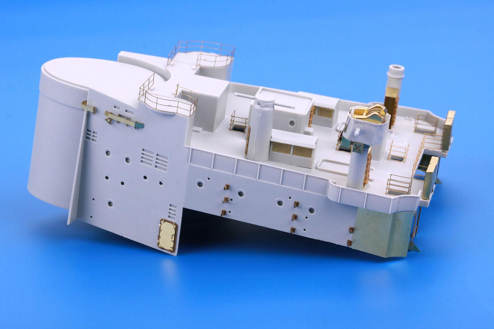 Eduard Models 1 200 HMS Hood Detail Set Part.7  Main Top for Trumpeter kit