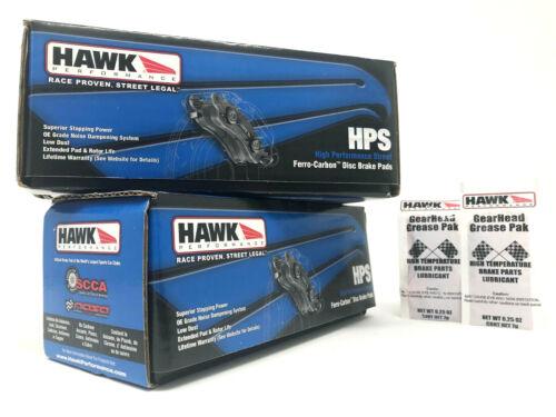 Rear Brake Pads For Toyota Lexus GX460 GX470 4Runner FJ Cruiser Hawk HPS Front
