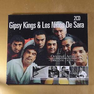 GIPSY KINGS & LOS NINOS DE SARA - 2CD - ORIGINAL SONG - OTTIMO CD [AM-054]