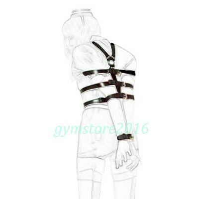 Sexy Body Full Harness for Women Restraint Arms Wrist Famale Wear Costumes NEW