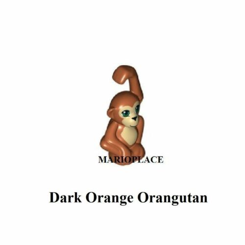 15634 NEW LEGO Dark Orange Orangutan Zoo Animal Friends Jungle Forest Monkey