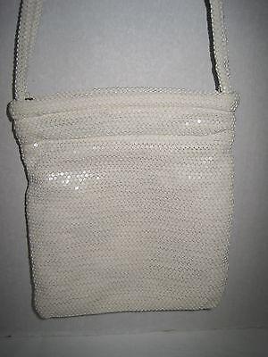 Wedding Bridal Purse Lumured Ivory Cream Off White Evening Bag Shoulder Bag