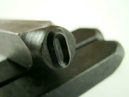 """1//4/"""" Letter /""""O/"""" Stamp-Punch-Hand-Tool-Gold Bar-Silver-Trailer-Metal-Leather"""