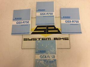 manuale uso e manutenzione suzuki gsx r 750 2000 2003 owner s rh ebay it manuale uso e manutenzione suzuki gsr 750 manuale officina suzuki gsx-r 750 k7