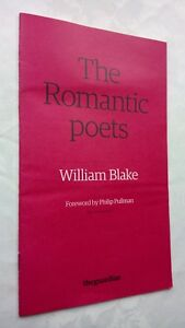 WILLIAM-BLAKE-THE-ROMANTIC-POETS-THE-GUARDIAN-NO-7-7-S-B-FOREWORD-PHILIP-PULLMAN