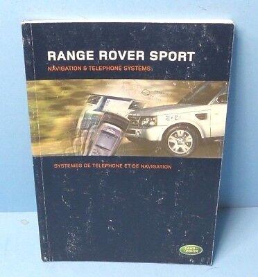 06 2006 Land Rover Range Rover Sport Navigation System border=