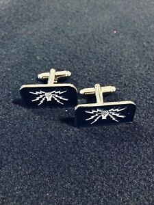 RAF Fist and Sparks cufflinks - Wireless/Telecommunications Trades