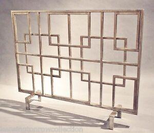 image is loading fireplace screens 034 oak park 034 decorative fire - Decorative Fireplace Screens