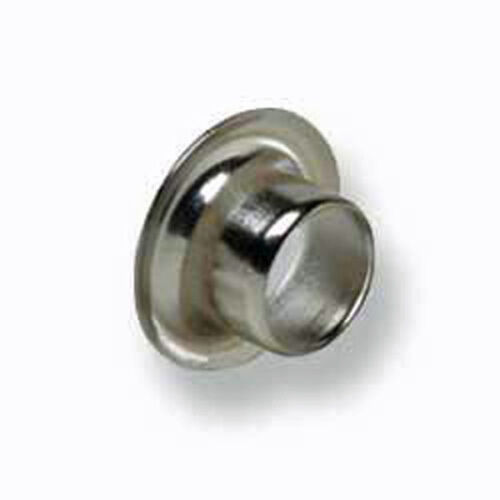 Tandy Leather 1287-12 Eyelets Nickel Plate 100//pk 1//4 inch 6mm