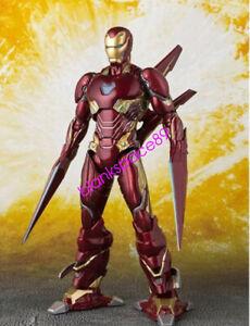 S-H-Figuarts-SHF-Avengers-Mark-50-Iron-Man-MK50-Nano-Weapon-Action-Figure-IN-BOX