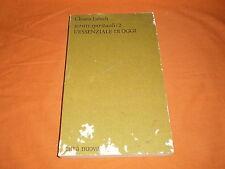 chiara lubich l'essenziale di oggi , scritti spirituali /2, 1984