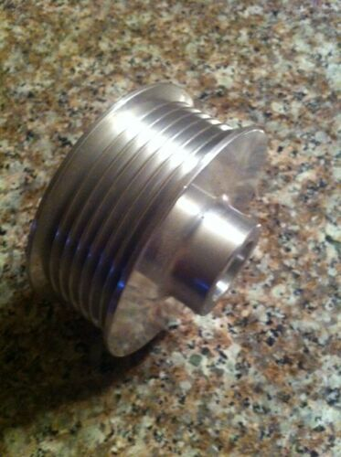 """POWERDYNE 2.50/"""" 6 rib Supercharger PULLEY for VORTECH SCORPION 20mm bore"""