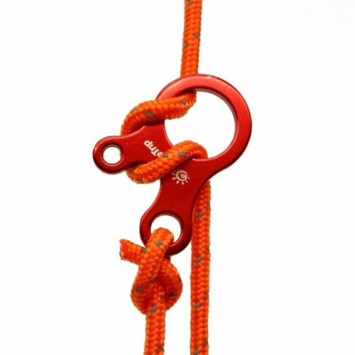 Camping 5pcs 3 Hole Aluminium Alloy Rope Tensioner Tent Windproof Rope Buckle