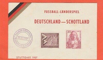 Orig.ersttagsbrief / Postkarte 22.05.1957 Deutschland - Schottland !! Selten VerrüCkter Preis