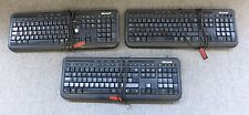 Joblot 3 x Microsoft X818768-003 Wired Keyboard 600 USB Black