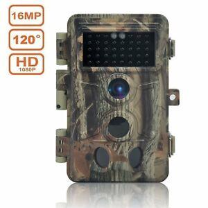 Camera-de-Chasse-1080P-16MP-IP66-Etanche-Camera-Surveillance-avec-40Pcs-LED