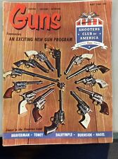 Vintage Guns Magazine May 1964 Collection Of Colt SA Revolvers .44 Rimfire .44S