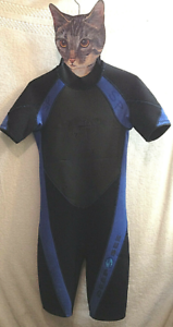 Deep See Wetsuit Shorty Scuba Diving Snorkeling Watersports S (8T)