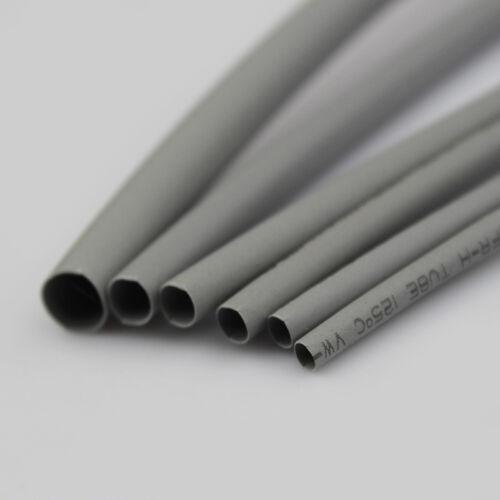Gris 2:1 Heatshrink tubería 1//2//3//3.5//4//5//6//8//10//12//14//16//20//25//30//40//50mm de diámetro